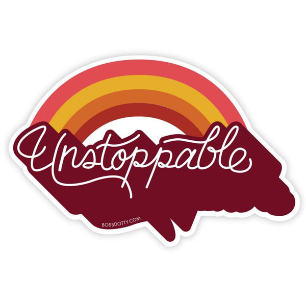 UNSTOPPABLE STICKER