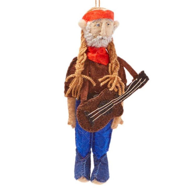 FELT ORNAMENT - WILLIE NELSON