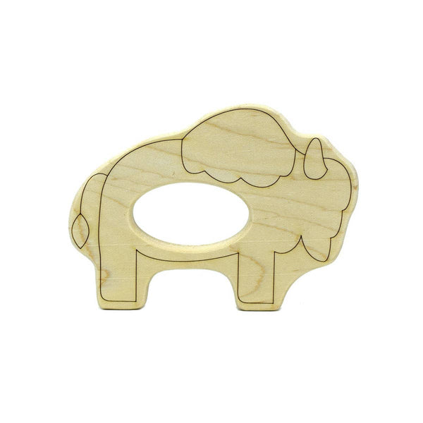 BISON WOOD TEETHER