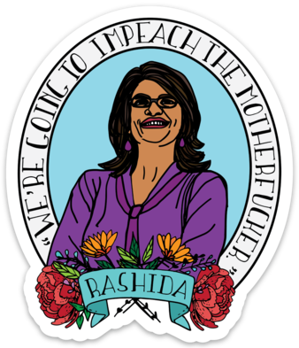 IMPEACH THE MOTHERFUCKER STICKER