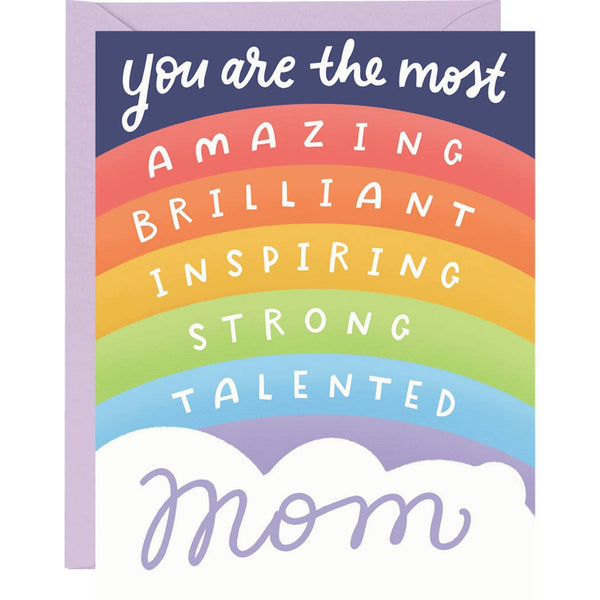 RAINBOW OF AFFIRMATIONS MOTHER'S DAY CARD