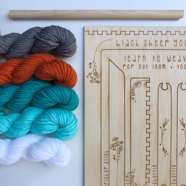 DIY TAPESTRY WEAVING KIT - GROOVE