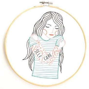 GINGIBER SELF CARE EMBROIDERY KIT