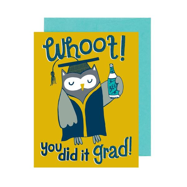 WHOOT! YOU DID IT CARD