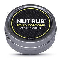 NUT RUB SOLID COLOGNE CITRUS & CEDAR