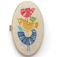 BIRDS EMBROIDERY KIT
