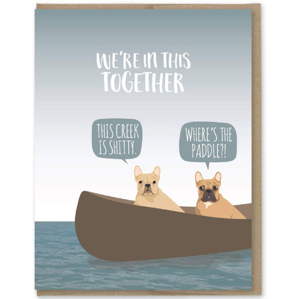 FRENCHIES IN THIS TOGETHER CARD