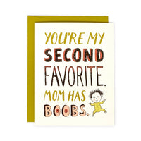 YOU'RE MY SECOND FAVORITE FATHER'S DAY CARD