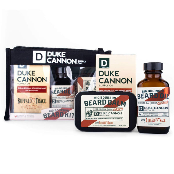 DUKE CANNON BIG BOURBON BEARD BUNDLE