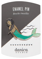 SEA SPELL MERMAID ENAMEL PIN