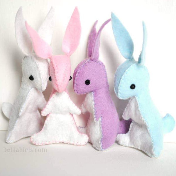 BUNNIES HAND STITCHING KIT