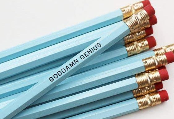 GODDAMN GENIUS PENCIL