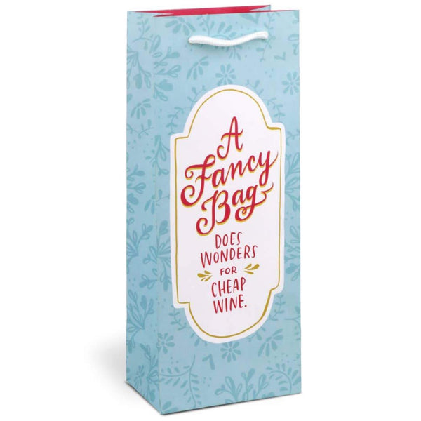 A FANCY WINE GIFT BAG