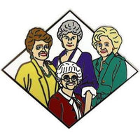 GOLDEN GIRLS ENAMEL PIN