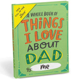 THINGS I LOVE ABOUT DAD FILL IN BOOK