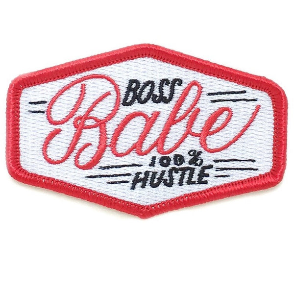 BOSS BABE 100% HUSTLE PATCH