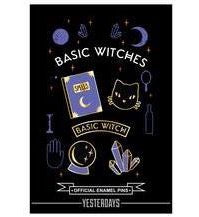 BASIC WITCHES ENAMEL PIN SET