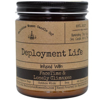DEPLOYMENT LIFE CANDLE