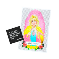 DOLLY PARTON SAINT CANDLE