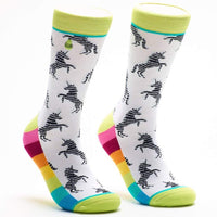 UNICORNS & RAINBOWS SOCKS