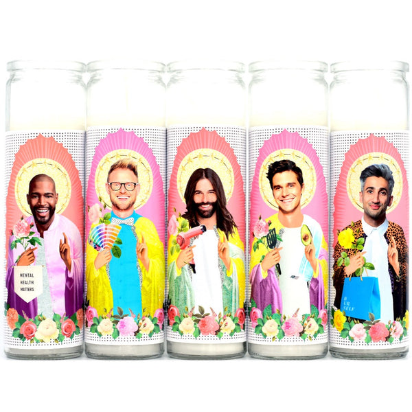 QUEER EYE SAINT CANDLE