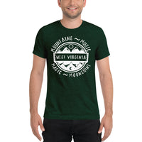 WV MOUNTAINS, MUSIC, MAGIC, MOONSHINE T-SHIRT