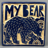 MY BEAR HANDMADE TILE