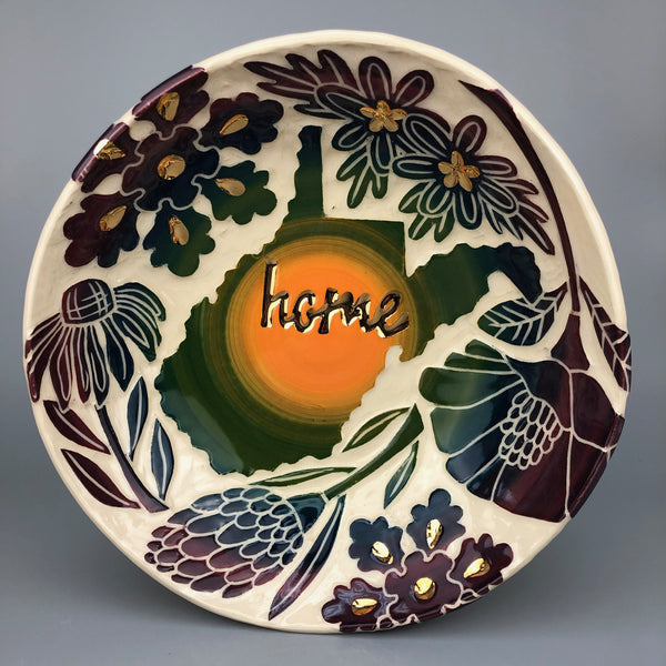 WEST VIRGINIA HOME HANDMADE BOWL