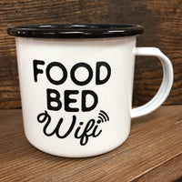 CAMP MUG - FOOD BED WIFI