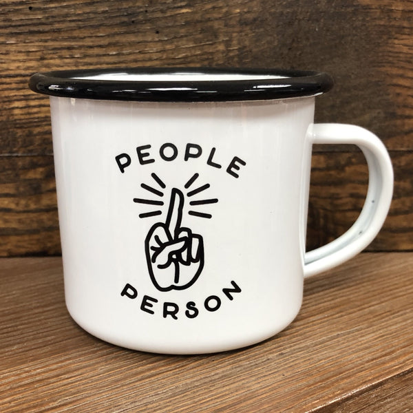 CAMP MUG - PEOPLE PERSON F.U.