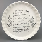 CUSTOM HANDWRITTEN RECIPE PLATE