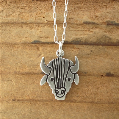 STERLING BISON NECKLACE