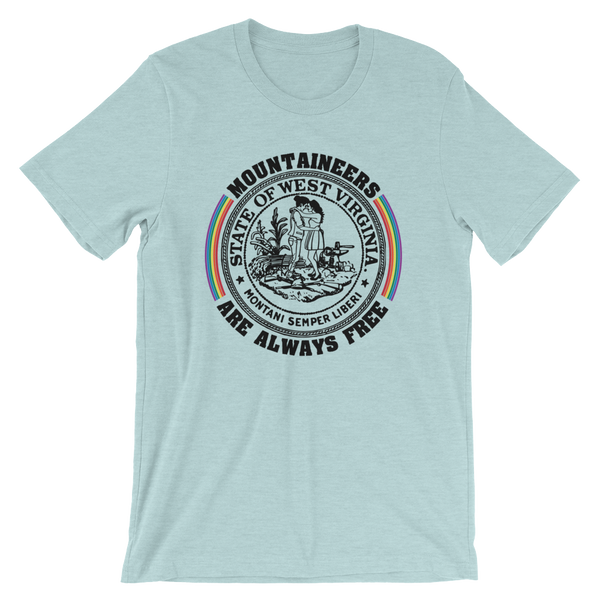 MOUNTAIN MAMAS ARE ALWAYS FREE - PRIDE T-SHIRT V2