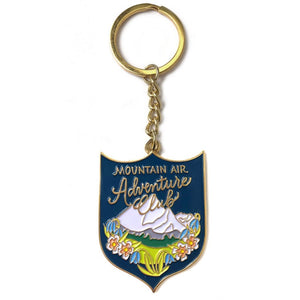 MOUNTAIN AIR ADVENTURE CLUB KEYCHAIN