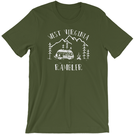 WEST VIRGINIA RAMBLER T-SHIRT