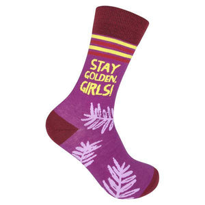STAY GOLDEN GIRL SOCKS