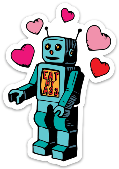 SAUCY ROBOT STICKER