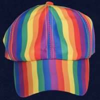 RAINBOW STRIPE CAP