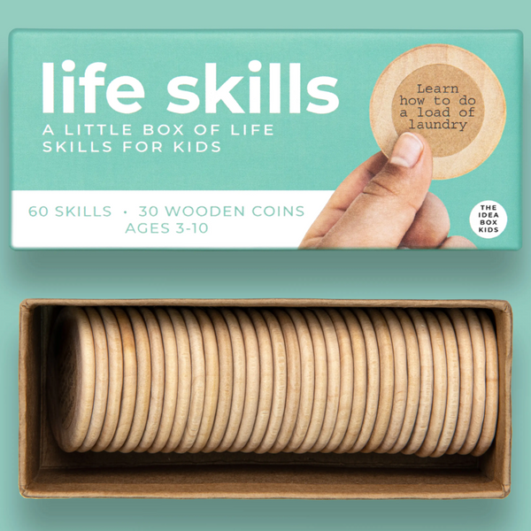 IDEA BOX COINS - SIMPLE LIFE SKILLS FOR KIDS