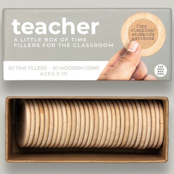 IDEA BOX COINS - TIME FILLERS FOR TEACHERS