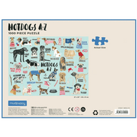 HOT DOGS A-Z PUZZLE