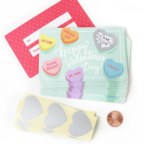 SWEETHEART DIY SCRATCH-OFF VALENTINES