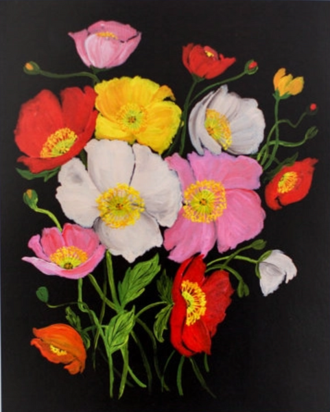 COLORFUL ICELANDIC POPPIES PRINT