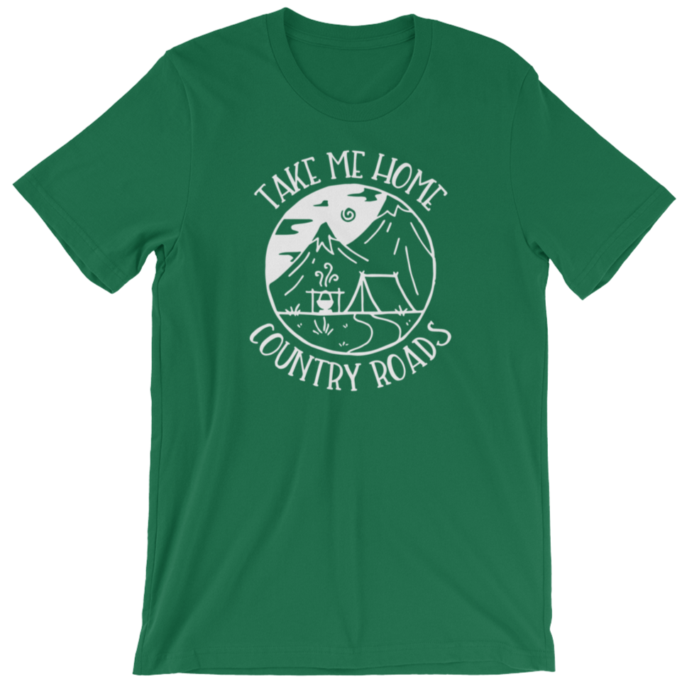 TAKE ME HOME COUNTRY ROADS T-SHIRT