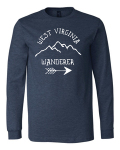 WEST VIRGINIA WANDERER LONG SLEEVE T-SHIRT