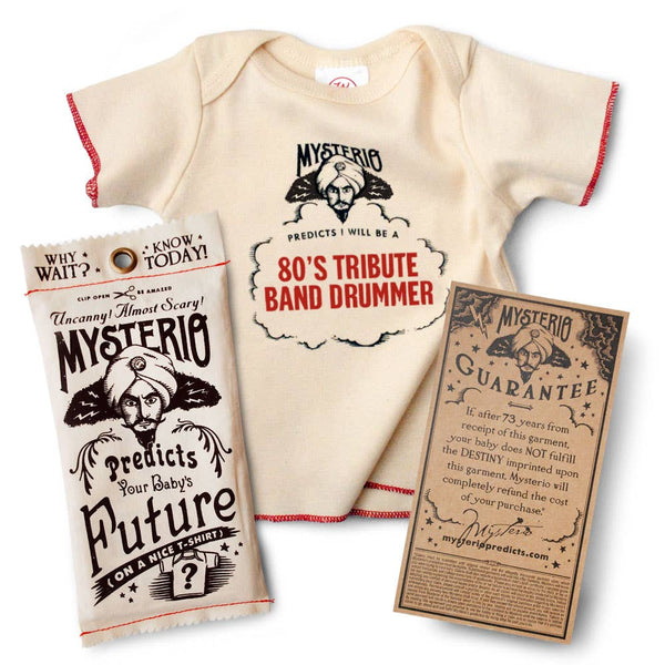 MYSTERIO'S FUTURE PREDICTING INFANT TEE
