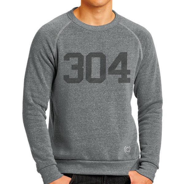 WEST VIRGINIA AREA CODE 304 SWEATSHIRT
