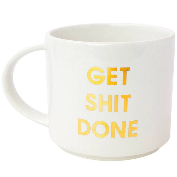 JUMBO STACKABLE MUG - GET SHIT DONE