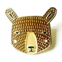 BROWN BEAR ENAMEL PIN