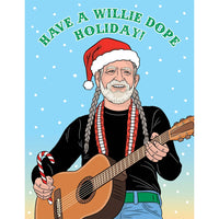 WILLIE DOPE HOLIDAY CARD